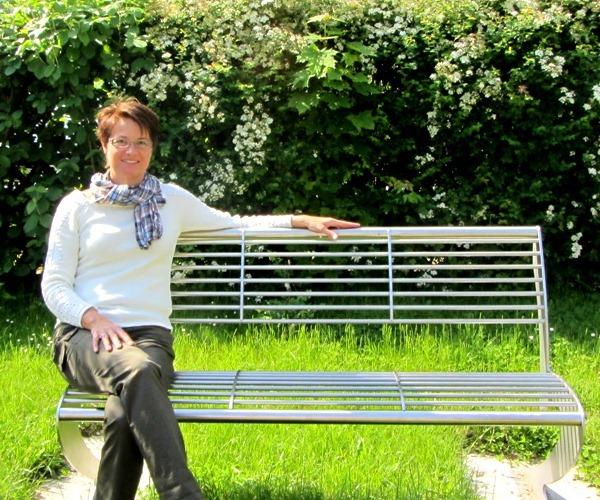 Frau Gockel auf einem BVJ-Werkstück
